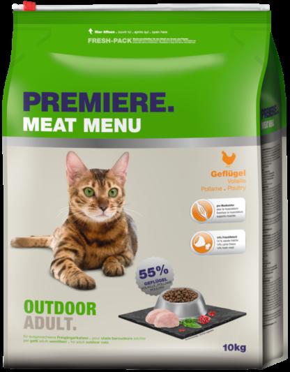 Premiere száraz macskaeledel adult outdoor szárnyas 10kg
