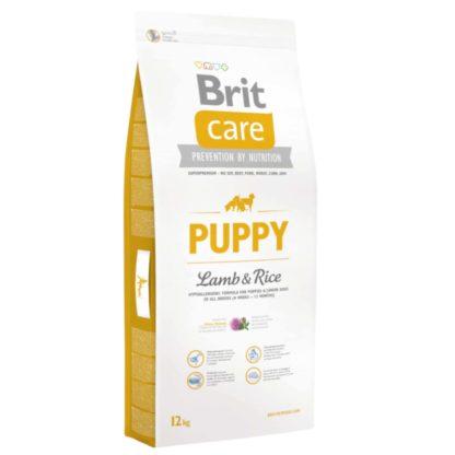 Brit Care All Breed száraz kutyaeledel puppy bárány&rizs 12kg