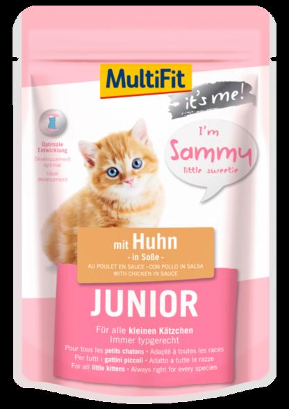 Multifit It's me macska tasak junior csirke 85g