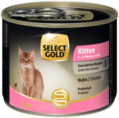 Select Gold macska konzerv kitten csirke 200g
