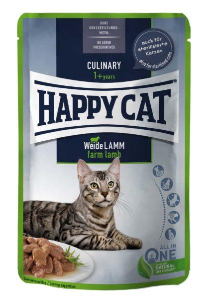 Happy Cat Culinary macska tasak bárány 85g