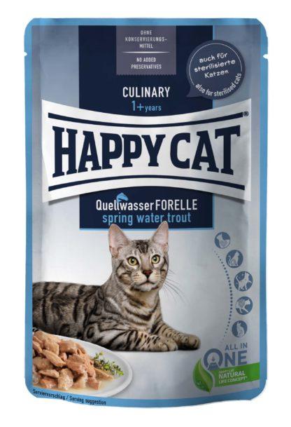 Happy Cat Culinary macska tasak pisztráng 85g