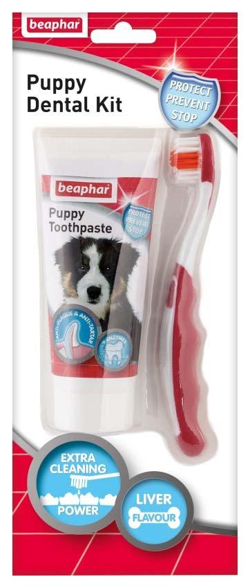 Beaphar kutya kölyök fogápoló készlet
