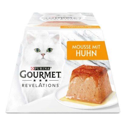 Gourmet Revelations macska tálka csirke&szósz 2x57g