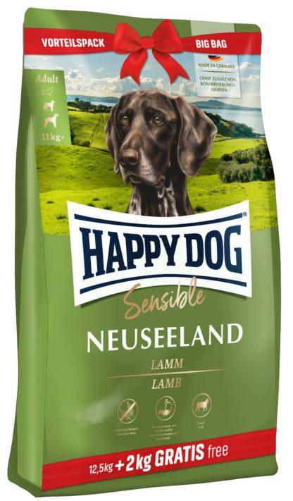 Happy Dog Supreme Neuseeland száraz kutyaeledel 12,5+2kg